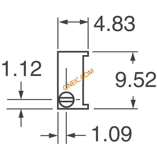 电位器,可变电阻器 断路器 3296w-1-204lf  * 生产型企业可申请月结和