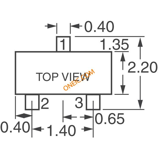 分立半导体 二极管,整流器 单向 mmbd4448hw-7-f  * 生产型企业可申请