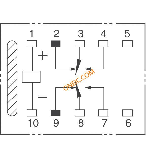 继电器 信号 g6h-2-dc12  厂商型号 产品描述  low signal relays