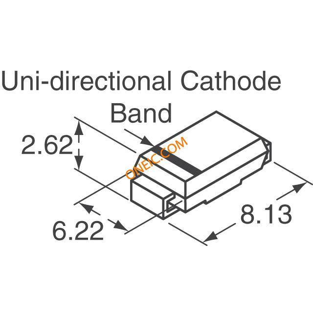 电路保护 瞬态电压抑制器 二极管 smdj smdj120a  厂商型号 产品描述
