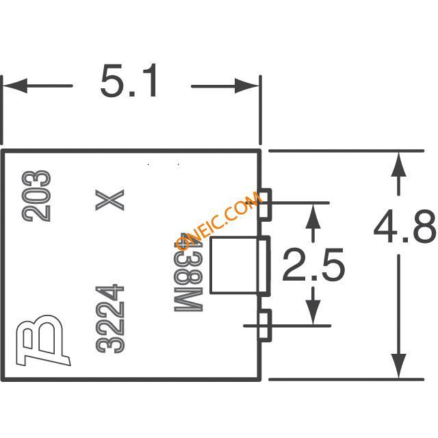 电位器,可变电阻器 断路器 3224x-1-102e  * 生产型企业可申请月结和