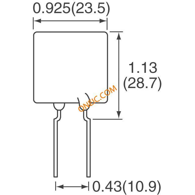 电路保护 ptc自恢复保险丝 polyswitch rhef1500-2  厂商型号 产品