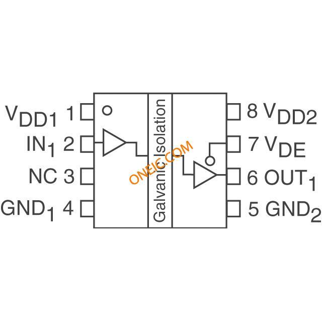 隔离器 数字隔离器 hcpl-0900-000e