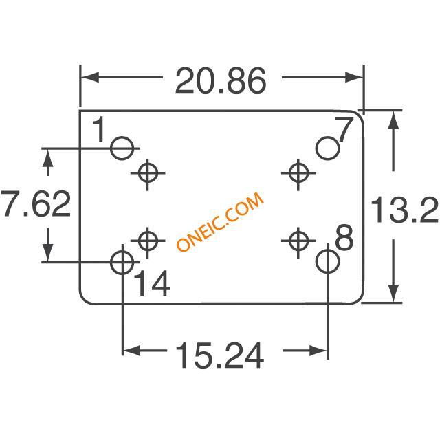 晶体振荡器 振荡器 ecs-100ax-480  * 生产型企业可申请月结和货到
