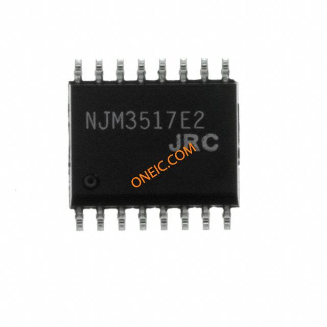 集成电路 电源管理芯片 电机和风扇控制器,驱动器 njm3517e2  * 生产