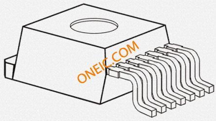 集成电路 电源管理芯片 稳压器 dc - dc开关稳压器 lm22670tj-adj