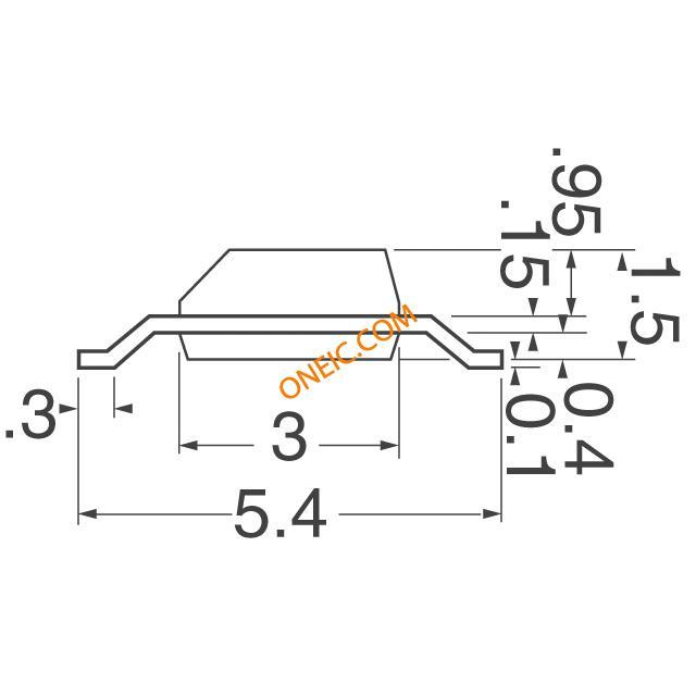 转换器 磁力传感器 霍尔效应,线性,罗盘数字交换机,集成电路 dn6848s