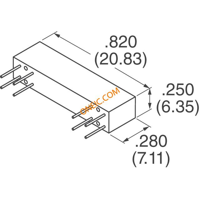 Relay Coil Drawing