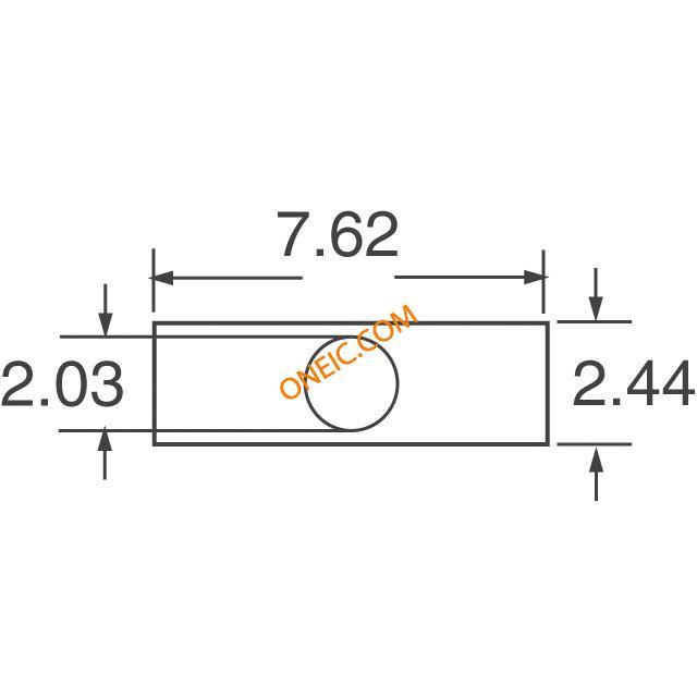 光电 发光二极管 电路板的指标,阵列,光条,棒图 555-5301f  * 生产型