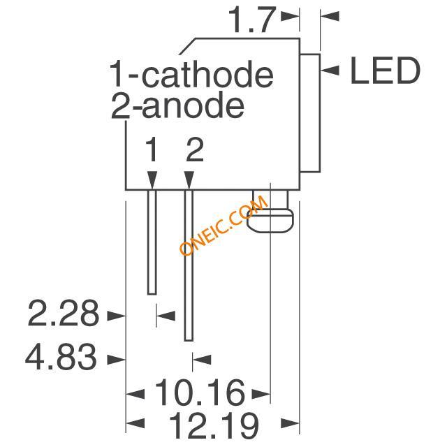 光电 发光二极管 电路板的指标,阵列,光条,棒图 ssf-lxh25780id  厂商