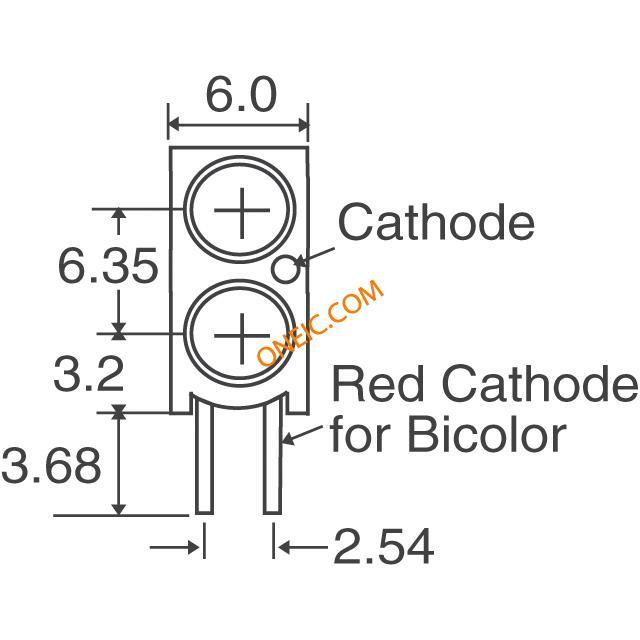 光电 发光二极管 电路板的指标,阵列,光条,棒图 552-0222f  * 生产型